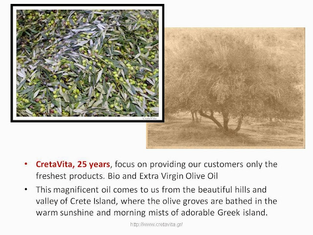 Cretan Olive Oil Factory - CretaVita Extra Virgin Olive Oil