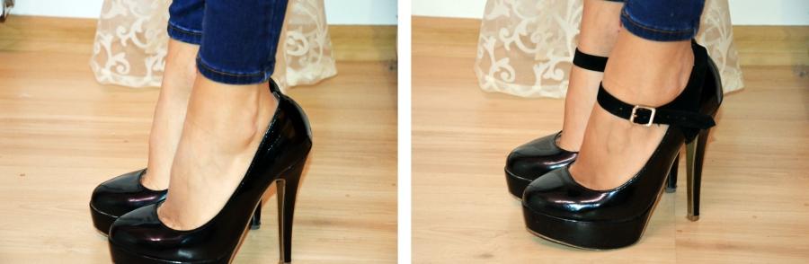 shoostraps, paski do butów na obcasie, szpilki