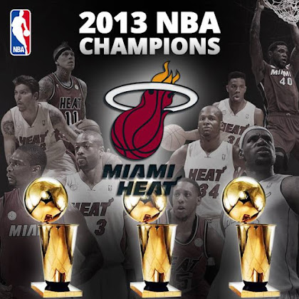 Miami Heat 2013 NBA Champions Wallpaper