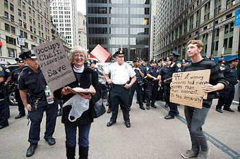 """Pizza Occupier"" in NY"
