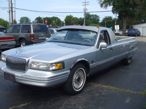 Find This 1995 Lincoln Ranchero Town Truck Offered For 4 850 In Loves Park Il Via Craigslist Tip From James R