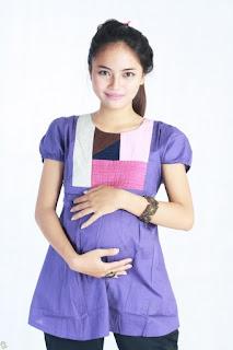 gambar baju hamil trendi terbaru