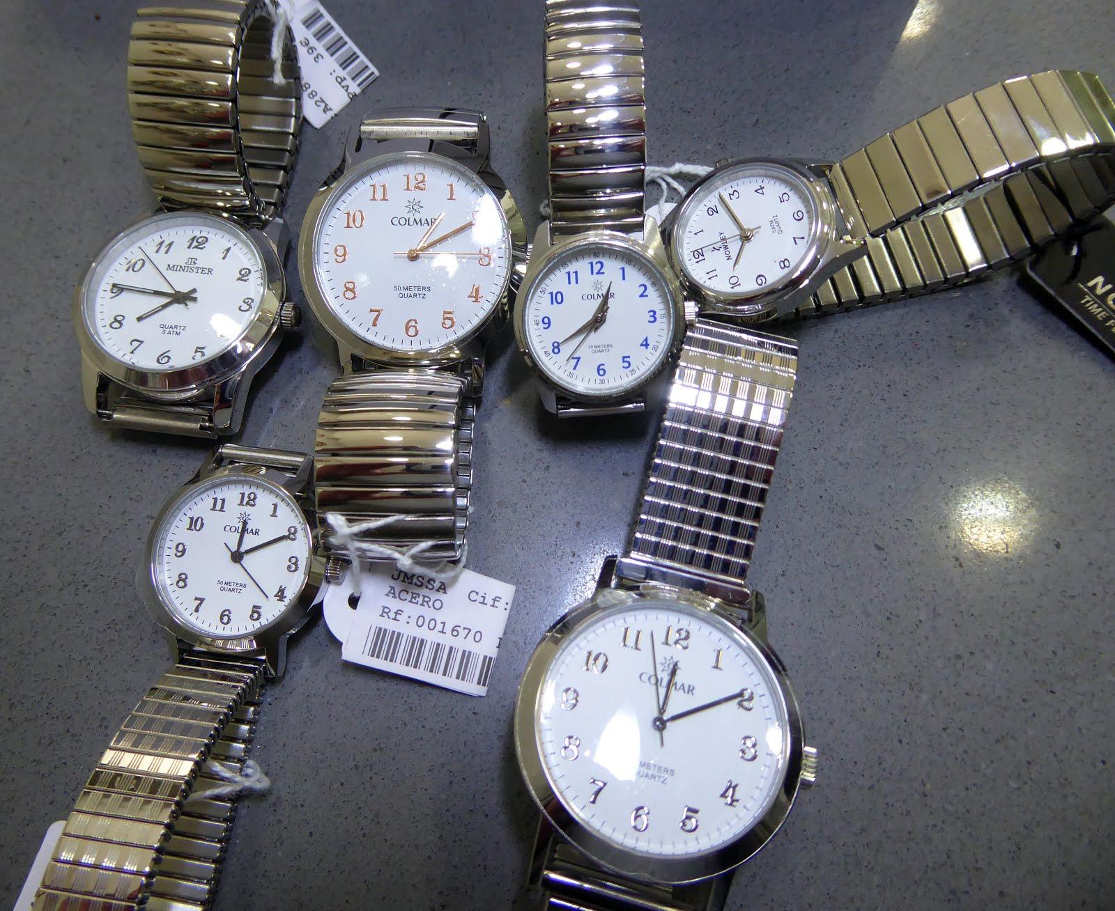 Relojes con pulsera extensible