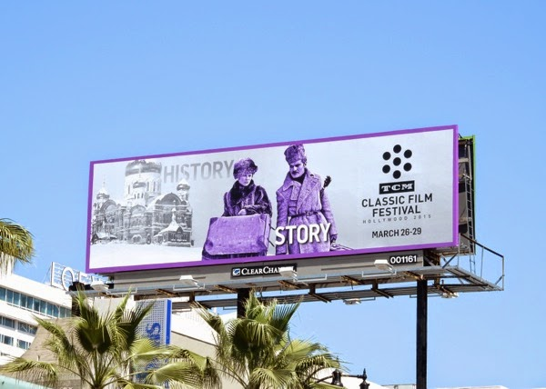 Doctor Zhivago TCM Classic Film Festival billboard