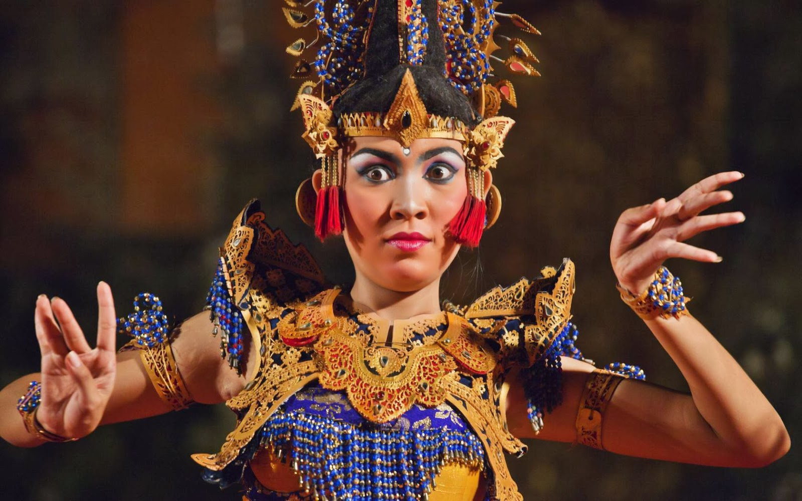 Symbolism in Balinese Dance Costumes