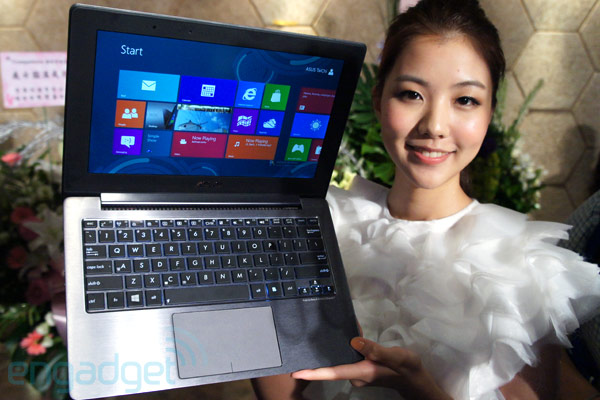 ASUS Taichi convertible notebook / tablet dengan display ganda