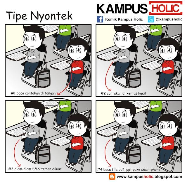 #020 Tipe Nyontek ala mahasiswa