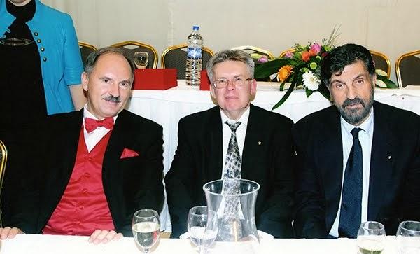 Με τον Πρόξενο της Ρωσίας στη Θεσσαλονίκη κ. Ποπώφ, μαζί με ανώτατο στέλεχος της Ρωσικής κυβέρνησης