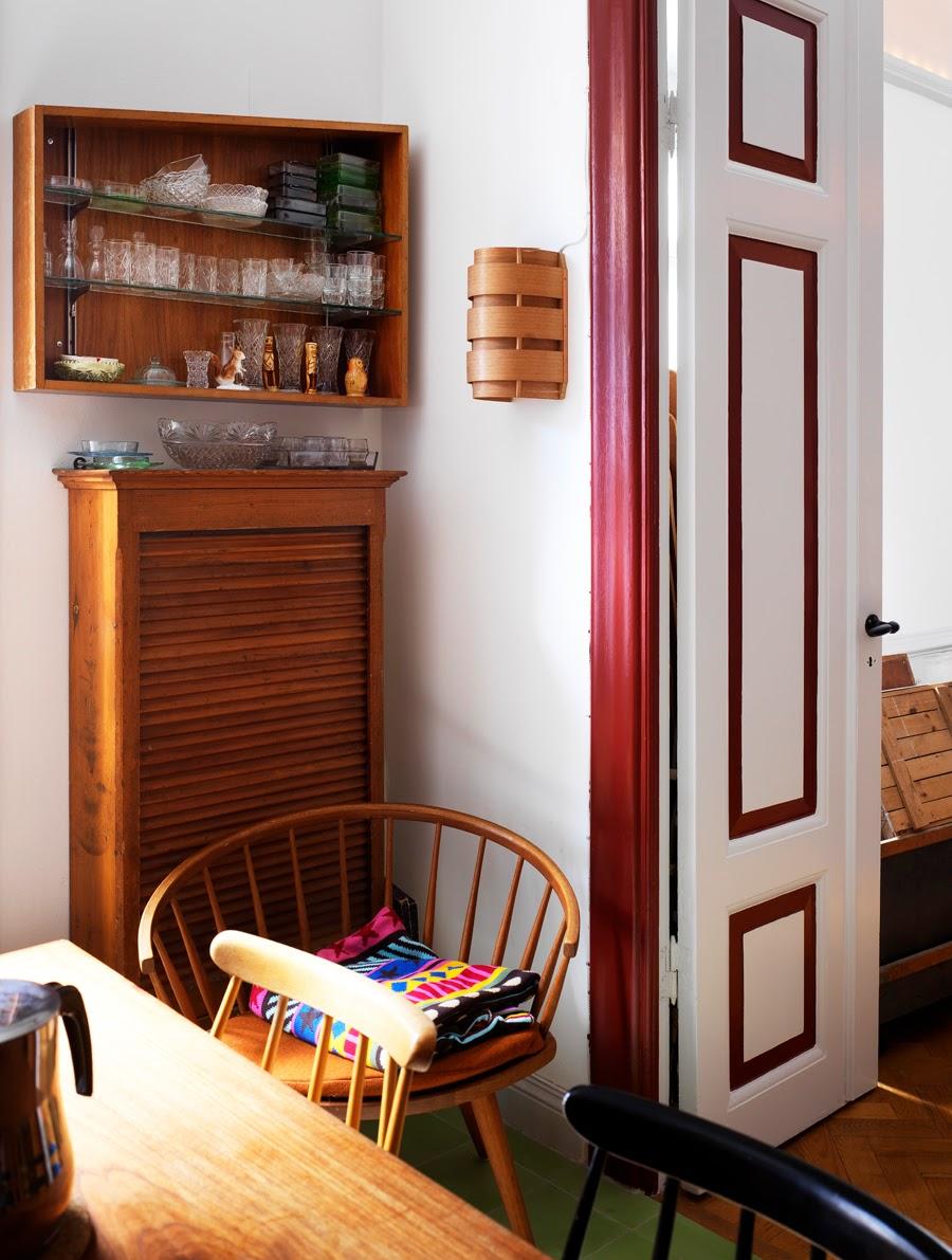 Un apartamento en estocolmo con mucho color etxekodeco - Apartamentos en estocolmo ...