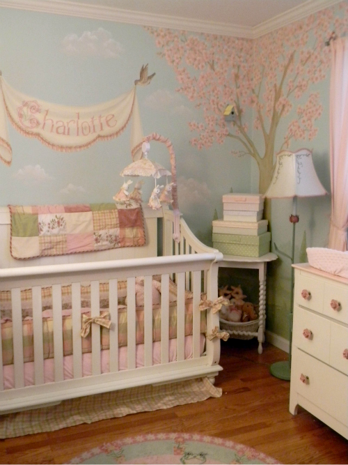 Chambre bebe fille quebec for Idee couleur chambre fille