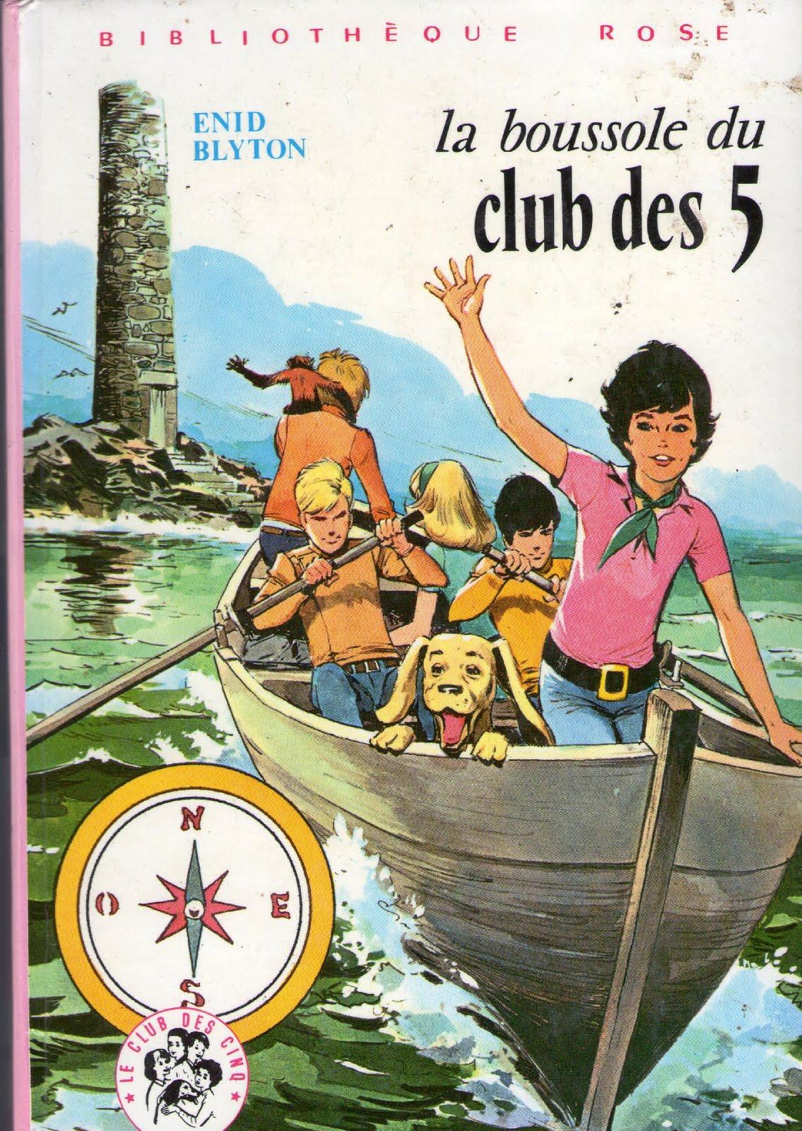 Les LIVRES de la Bibliothèque ROSE - Page 6 La%2Bboussole%2Bdu%2BClub%2Bdes%2BCinq