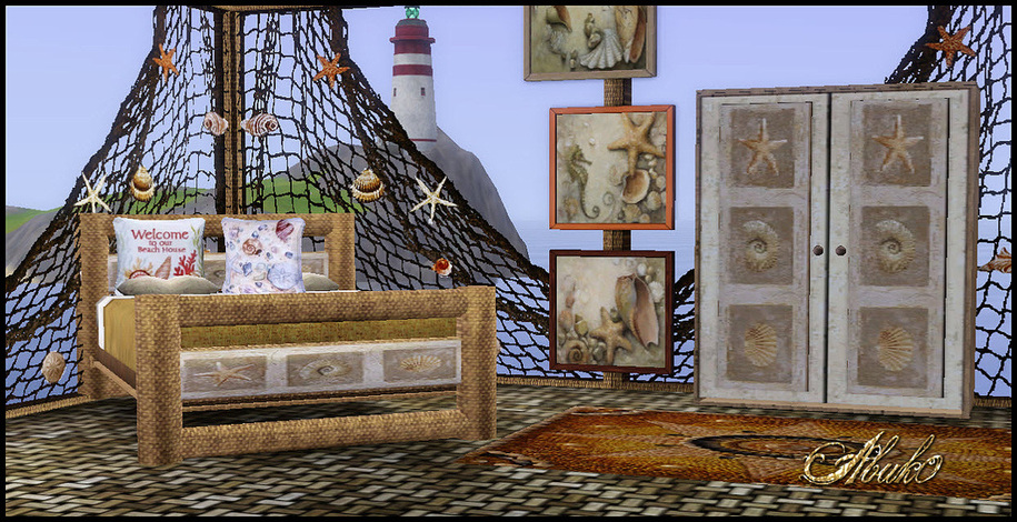 my sims 3 blog: beach dreams bedroom setabuk0