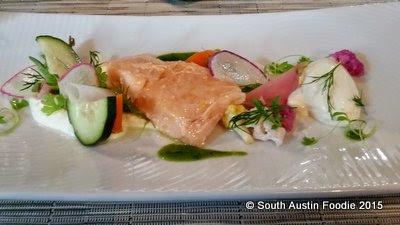 Prelog's salmon confit