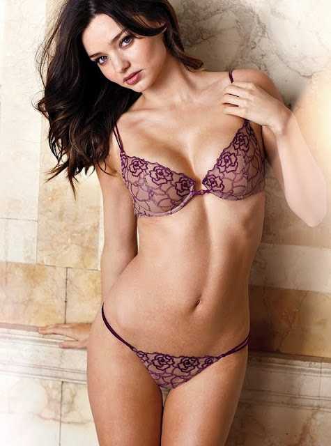 Miranda Kerr – Victoria's Secret Lingerie Photoshoot