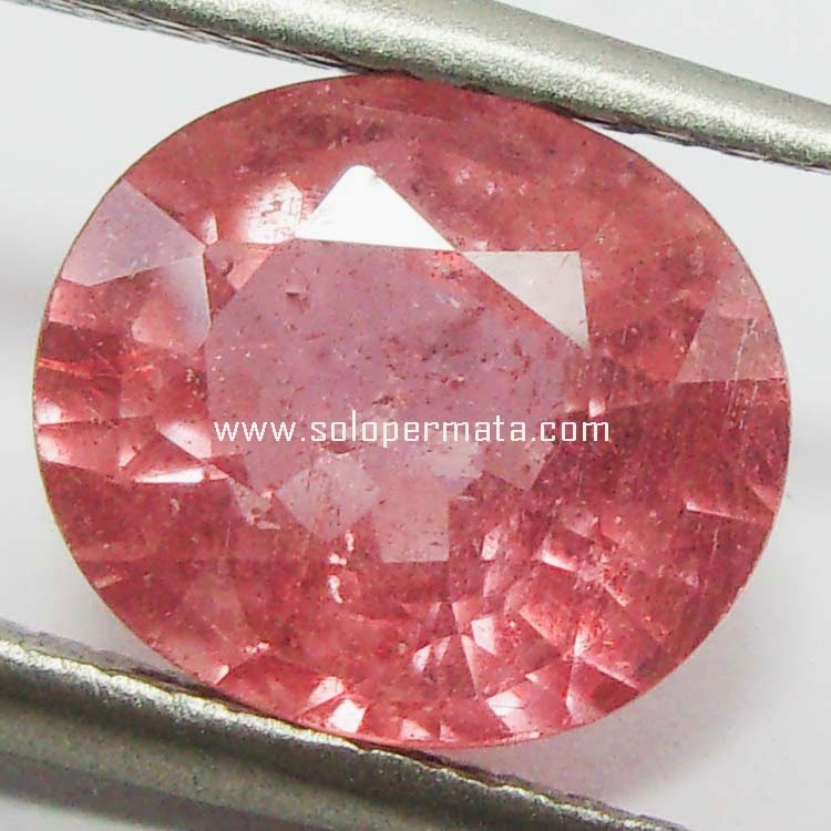 Batu Permata Padparascha Sapphire