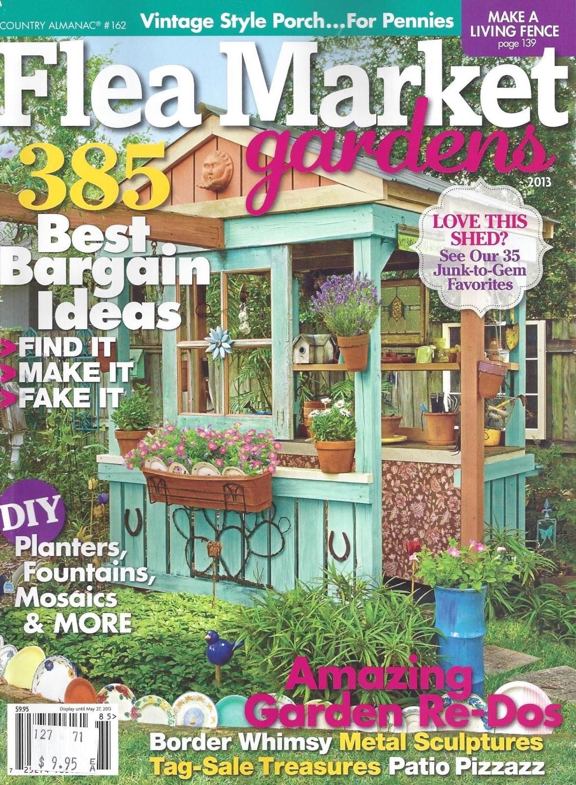 my painted garden re issued flea market gardens magazine