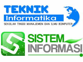 Perbedaan Jurusan TEKNIK INFORMATIKA dengan SISTEM INFORMASI