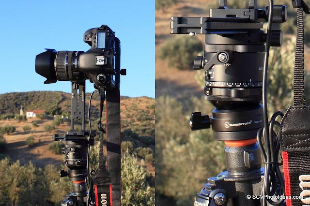Sunwayfoto DDP-64M PIR as part of the Sunwayfoto Pano-3 Panoramic Head