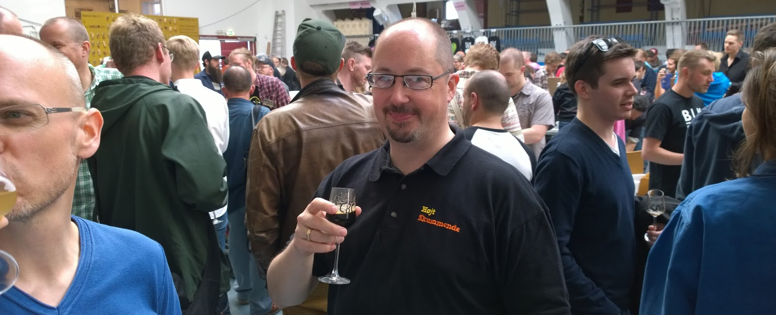 Brian Lund på Copenhagen Beer Celebration 2014