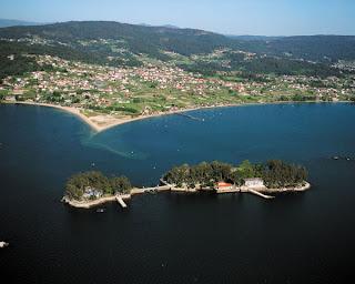 Isla de San Simón en Redondela