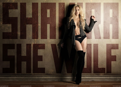 Shakira Pop Singer Wallpaper