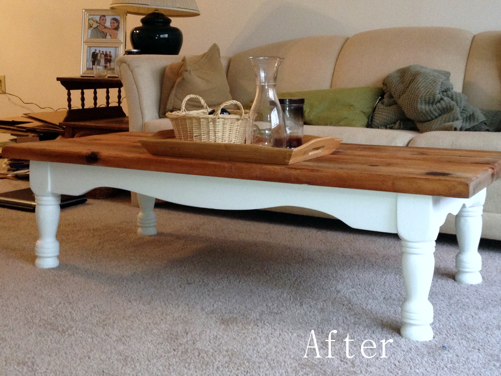 La Vita Dibella Coffee Table Makeover