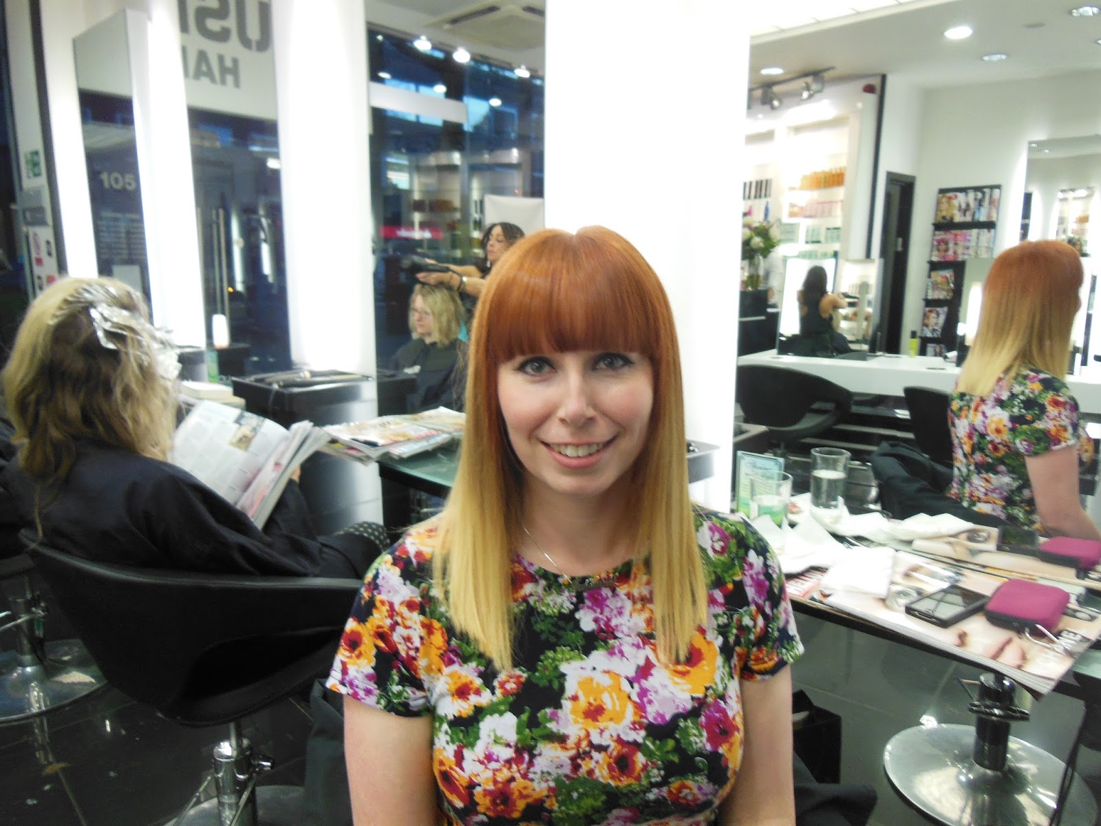 A visit to Rush Hair and Beauty | Tales of a Pale Face ...
