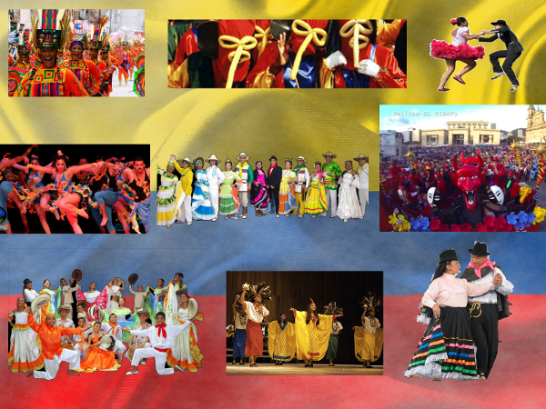 La cultura en nuestro folclor, eventos, concursos, reinados, carnavales y mucho más, en los que el lenguaje corporal se usa como medio de expresión de nuestras regiones.