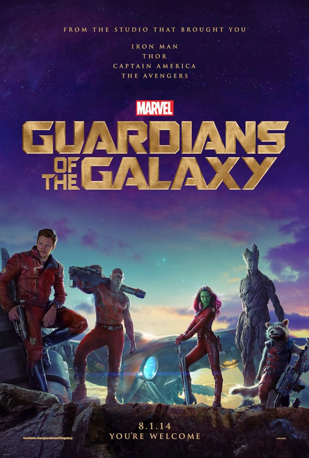 "Poster ""Guardianes de la Galaxia"""