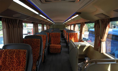 Interior Bus Tingkat Miracle MAN Mewah