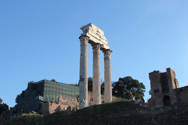 Temple of Castor and Pollux, Rome, Italy