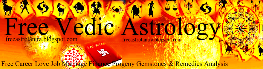 Free Vedic Astrology and Tantra service