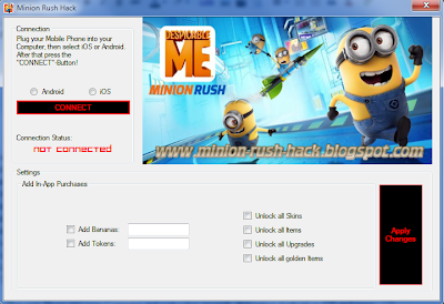minion rush hack tool free tokens