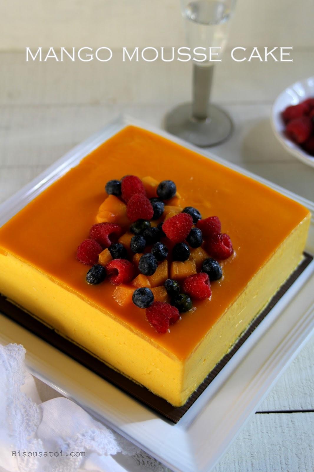 Mango Yuzu Cake