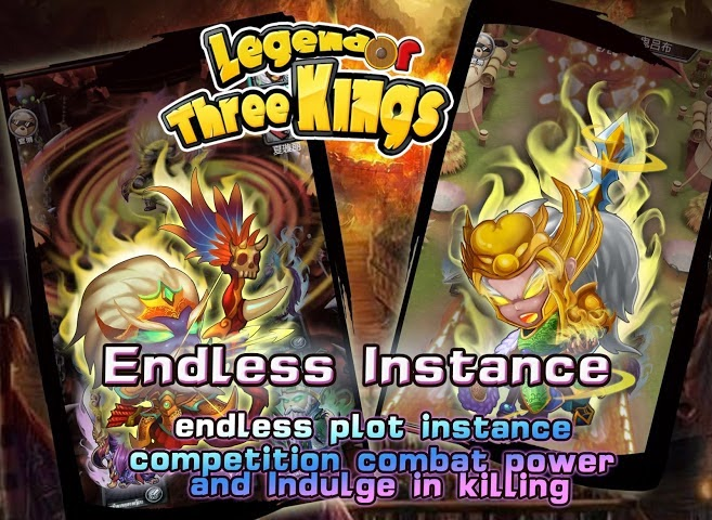 Game Legend of Three Kings Untuk Android Apk