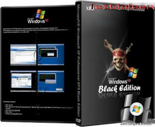 Windows XP Professional SP3 Black Edition 2013