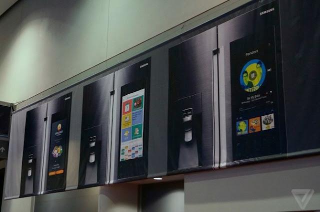 Samsung dự định phát hành tủ lạnh chạy Android tại CES 2016 1