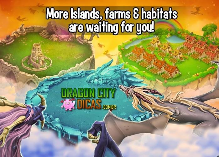 Mais Habitats e Fazendas Liberadas!