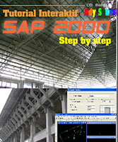 CD Tutorial SAP 2000 Step by Step Dasar sampai Mahir
