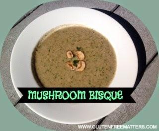 gluten free mushroom soup