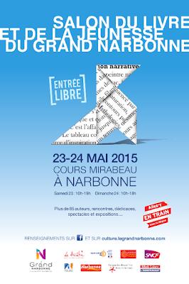 Salon du livre et de la jeunesse du Grand Narbonne - Cliquer pour plus d'infos