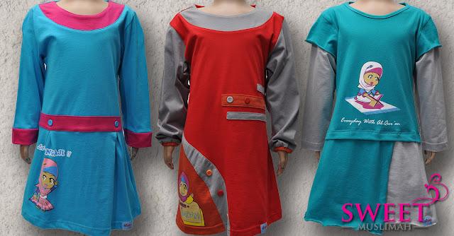 beli online baju muslimah kanak-kanak