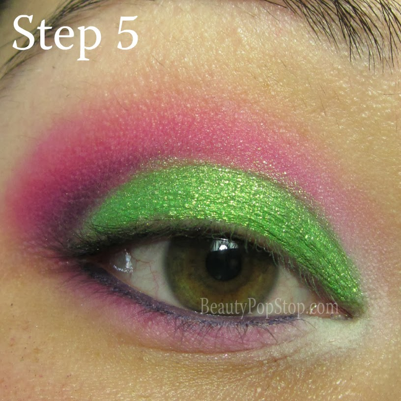 valentine's day makeup tutorial using sugarpill dollipop, urban decay delinquent, mac chromagraphic pencil