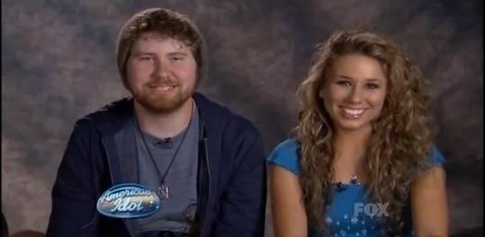 american idol casey and haley. Tags: American Idol Season 10,