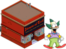House of Evil + Krusty Doll