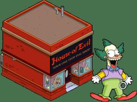 House of Evil + Krusty Doll