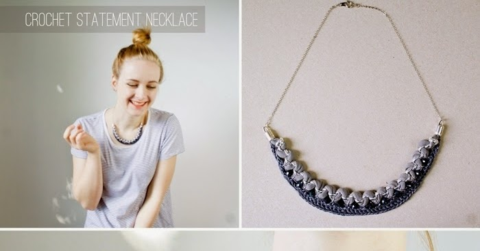 The greatest crochet statement necklace you ever made | DIY