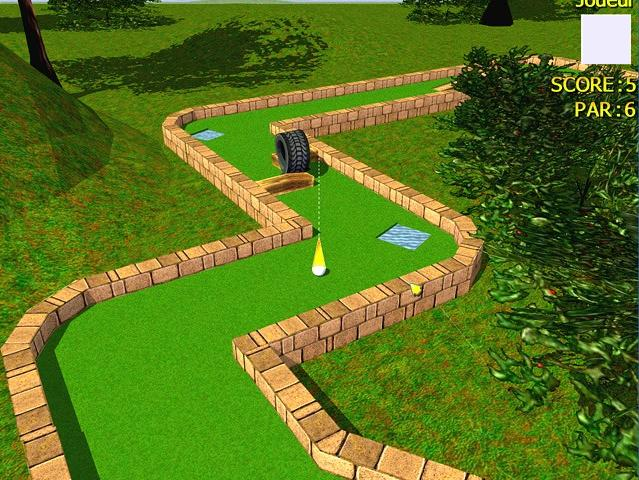 لعبة الجولف 3D MiniGolf Unlimited