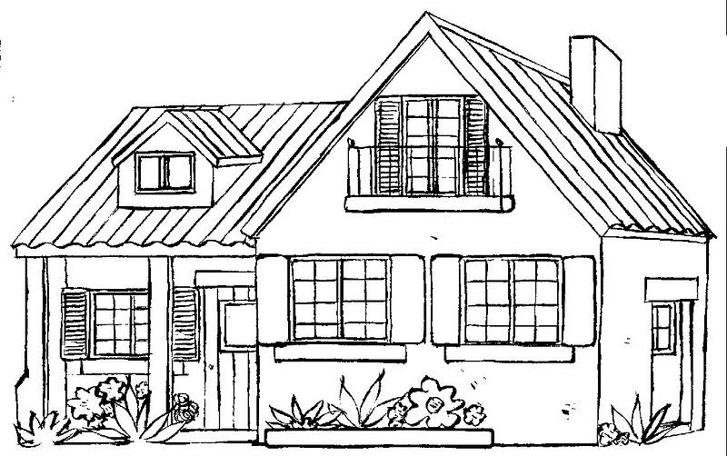 Dibujos de casa de campo imagui - Como pintar una casa rustica ...
