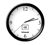 Jam,o'clock,clock,jam animasi,jam blog,waktu,time,second,minute,menit,cara memasang jam animasi,Stylish Flash Animated Clock